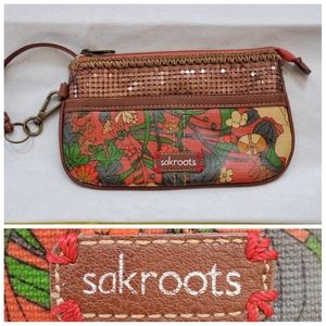SAKROOTS Clutch/wallet wss with outer pock…